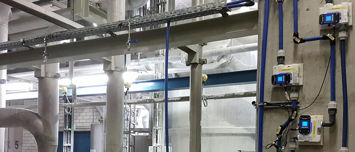 MIB GmbH - Ultraschall Durchflussmessgeraet - Flowmax 42i im Einsatz
