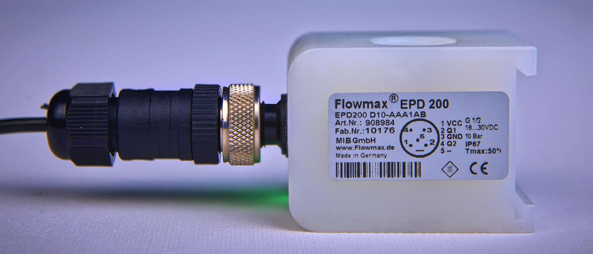 MIB GmbH - Ultraschall Durchflussmessgeraet EPD200